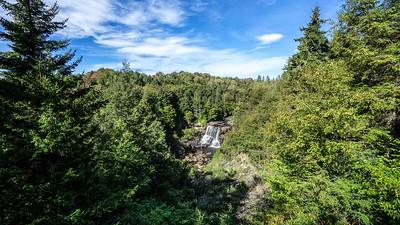 Black Water Falls Overlook