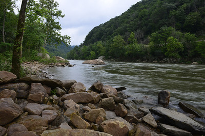 New River in West Virginia