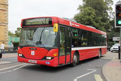 Harrogate Coach Travel YN04GMV Station Rd York 1 Sep 15