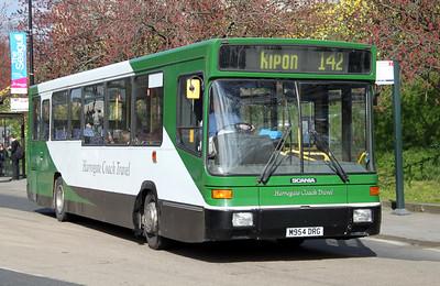 Harrogate Coach Travel M954DRG Station Rd York 2 Apr 10