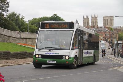 Harrogate Coach Travel S900RGE Station Road York Sep 17