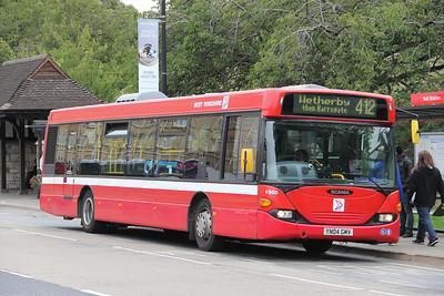 Harrogate Coach Travel YN04GMV Station Rd York 4 Sep 15