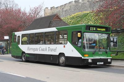 Harrogate Coach Travel K108YTX Station Rd York Apr 10