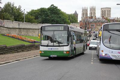 Harrogate Coach Travel T562BSS Station Rise York 1 Sep 15