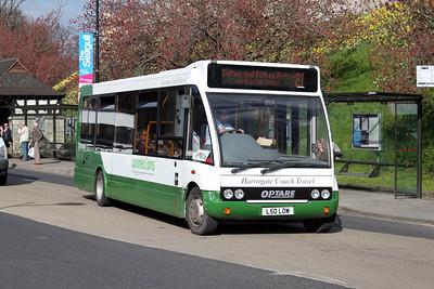 Harrogate Coach Travel L50LOW Station RD York Apr 10