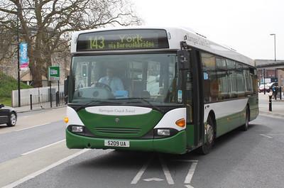 Harrogate Coach Travel 5209UA Station Rd York Apr 10
