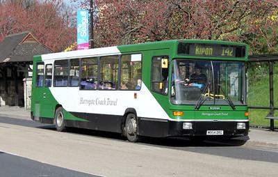Harrogate Coach Travel M954DRG Station Rd York 1 Apr 10