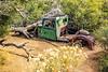 CA-Joshua Tree National Park-Abandoned vehicle