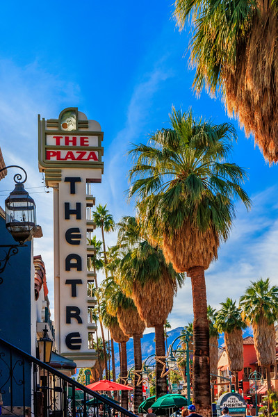 CA-PALM SPRINGS-The Plaza Theatre
