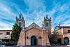 NM-ALBUQUERQUE-OLD TOWN-San Felipe de Neri Parish