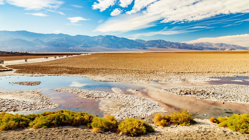 California-Death Valley National Park-Badwater Basin's Salt Flats
