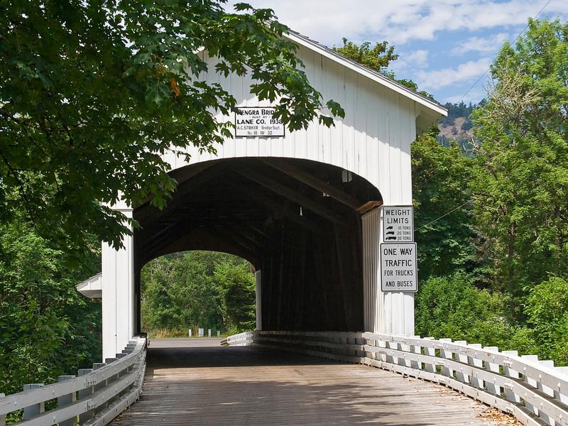 OR-FALL CREEK-PENGRA COVERED BRIDGE