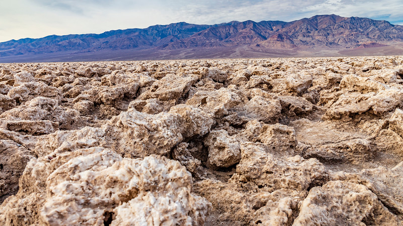 California-Death Valley National Park-Devil's Golf Course