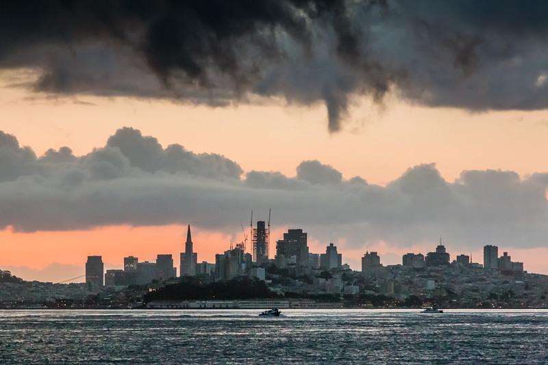 CA-SAN FRANCISCO SKYLINE