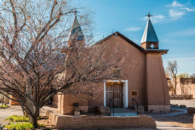 NM-LOS RANCHOS-OLD SAN YSIDRO CHURCH