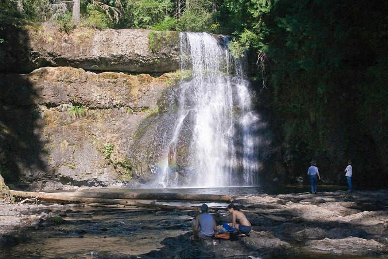 OR-SILVER FALLS STATE PARK