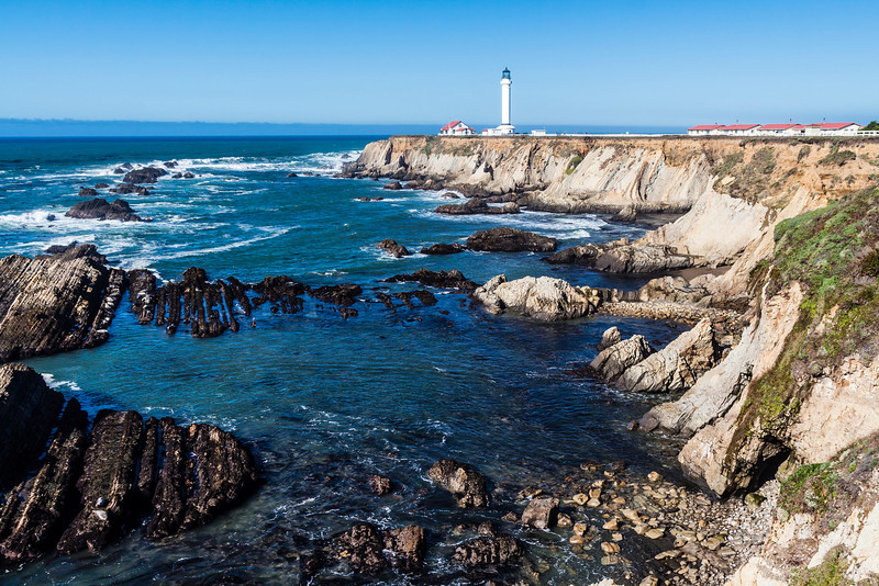 CA-PORT ARENA-POINT ARENA LIGHTHOUSE