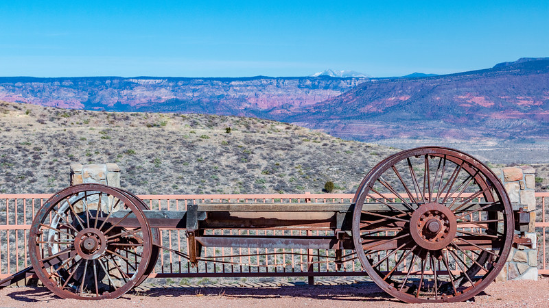 ARIZONA-Jerome-Mine wagon