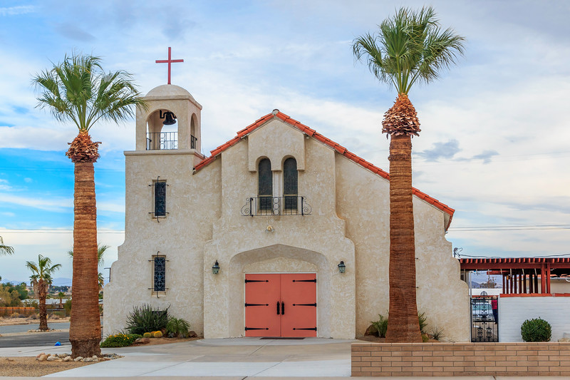 CA-Twentynine Palms-Blessed Sacrament Church