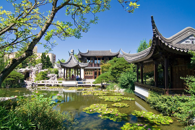OR-PORTLAND-CHINESE GARDENS