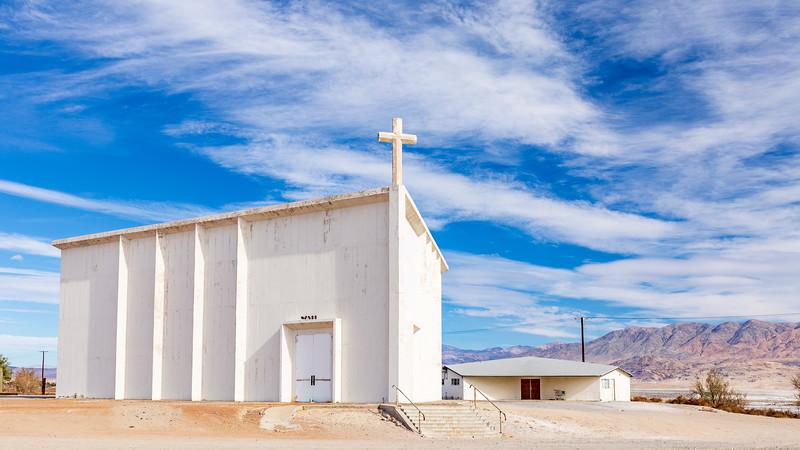 California-Trona-St. Madeleine Church