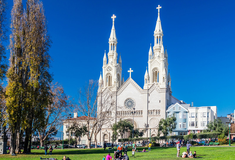 CA-SAN FRANCISCO-SAINTS PETER AND PAUL CHURCH