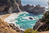 CA-BIG SUR-JULIA PFEIFFER BURNS STATE PARK-McWAY FALLS