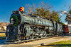 ARIZONA-Kingman-Locomotive Park-AT&SF steam engine #3759