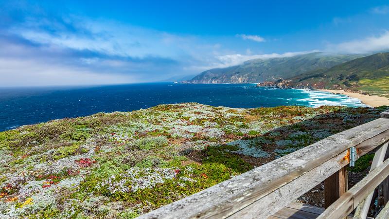 California-Big Sur coastline