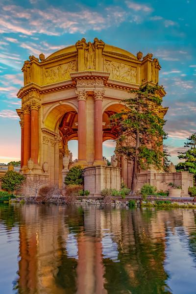 California-San Francisco-The Palace of Fine Arts