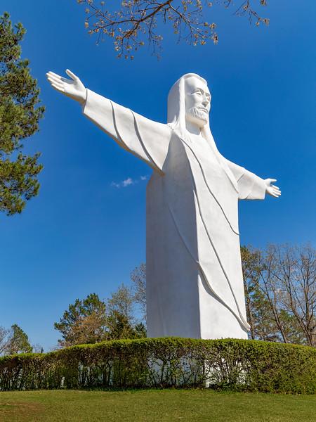 Arkansas-EURIKA SPRINGS-Christ of the Ozarks