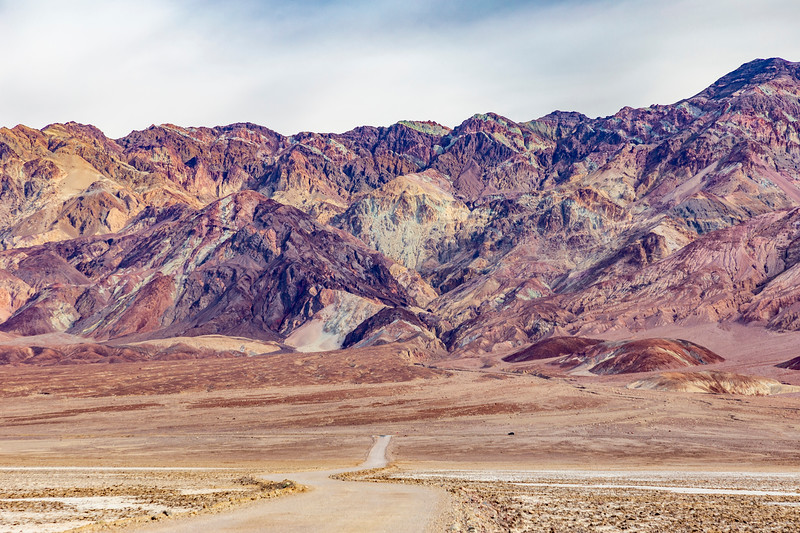 California-Death Valley National Park-Salt Pond Road