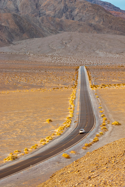 California-Death Valley National Park-Route 190