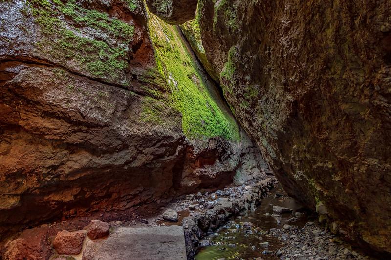 North side of Pinnacles National Park-Bear Gulch Cave