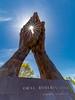 OKLAHOMA-TULSA-ORAL ROBERTS UNIVERSITY-PRAYING HANDS