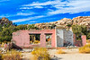 CA-Joshua Tree National Park-Abandoned house