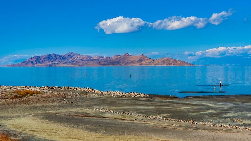 Utah-Great Salt Lake-ANTELOPE ISLAND