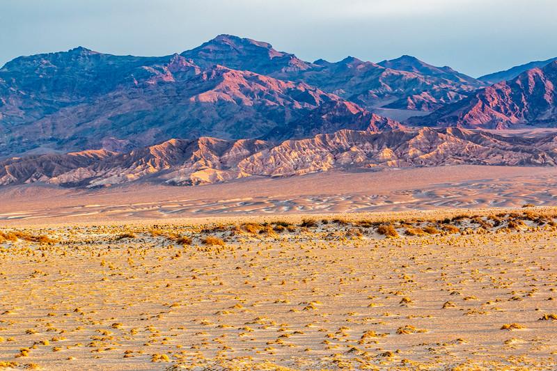 California-Death Valley National Park-Amargosa Range and Devil's Cornfield