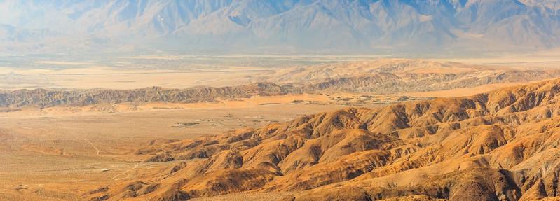 CA-Joshua Tree National Park-Keys View-Coachella Valley
