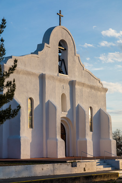 TX-EL PASO/SAN ELIZIARIO-Presidio Chapel of San Elizario