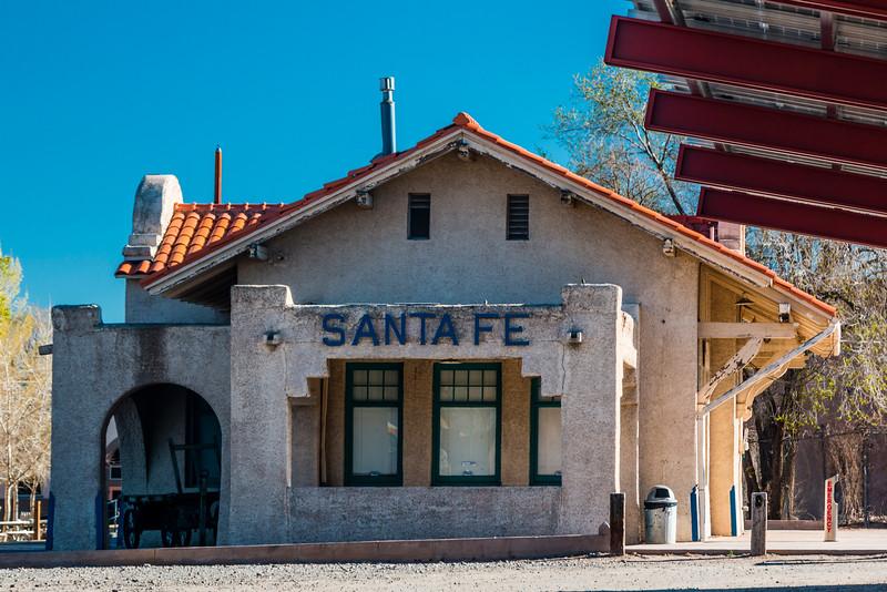 NM-SANTA FE-TRAIN STATION