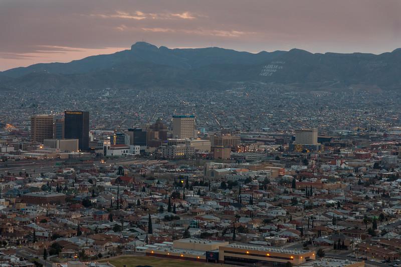 TX-EL PASO and Ciudad Juárez, MEXICO