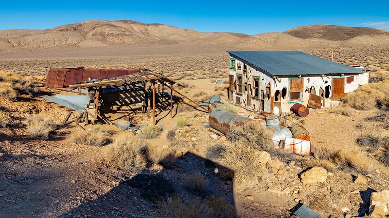 California-Death Valley National Park-Aguereberry Camp