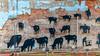 OKLAHOMA-WAURIKA-WALL MURAL