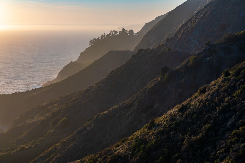 California-Big Sur sunset