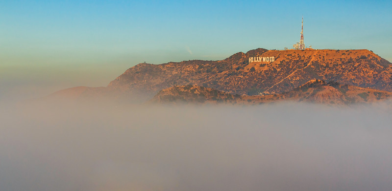 CA-LOS ANGELES-HOLLYWOOD SIGN
