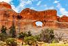 Utah-Arches National Park-Devils Garden-Tunnel Arch
