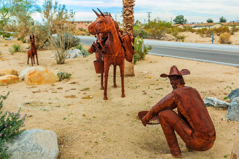 "CA-Twentynine Palms-""The Prospector"""
