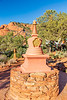 ARIZONA-Sedona-Amitabha Stupa and Peace Park