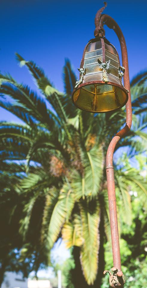 Lamp, Mission San Rafael, California, 1995